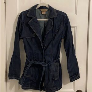 Jean Jacket F2 Jou Jou Medium Dark tie